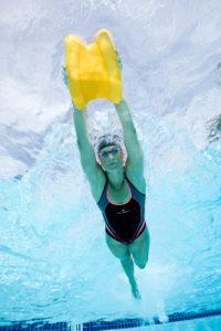 sportliches schwimmen