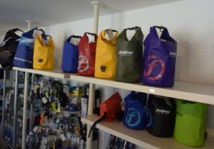 Tauchausrüstung Dry-Bags